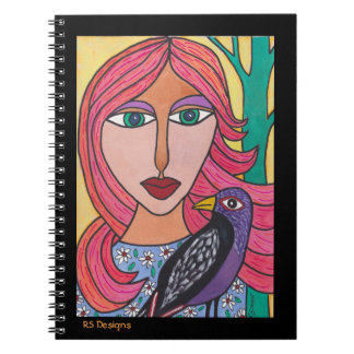 Red-Haired Woman Notebook
