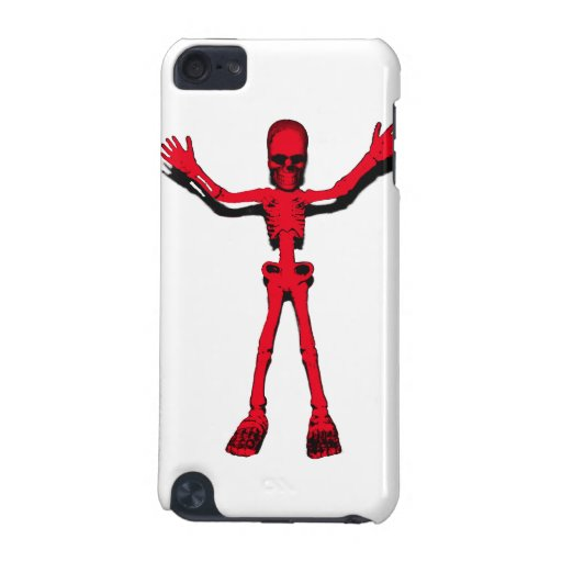 Red Halloween Skeleton iPod Touch (5th Generation) Case