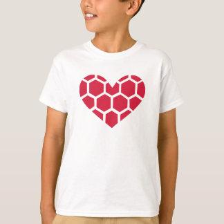 Red Handball heart T-Shirt