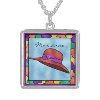 Red Hat Beautiful Sterling Silver Necklace
