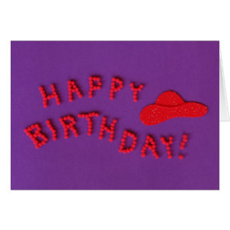 Red Hat Birthday Cards -- Happy Birthday