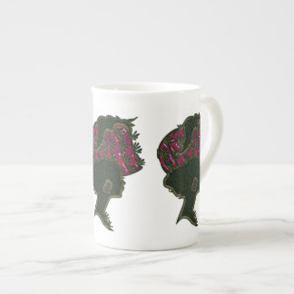 Red Hat Cameo Bone China Mug