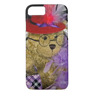 Red Hat Teddy Bear iPhone 7 Case