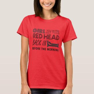 Red Head - Aint Goin Down - Garth Brooks Shirt
