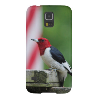 Red-headed Woodpecker Case For Galaxy S5