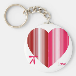 red heart as a gift for a St Valentine s Day Keychains