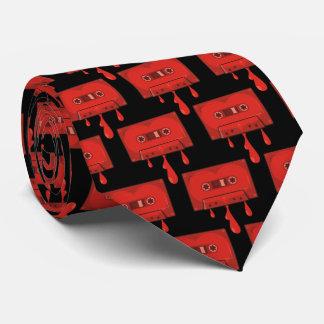 Red Heart Cassette Tie