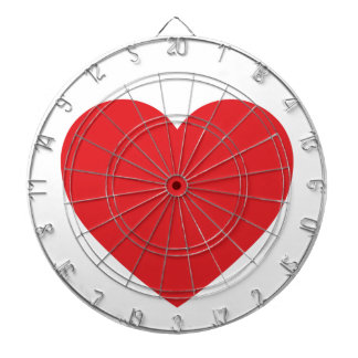 Red Heart Dartboard