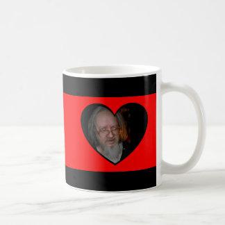 Red Heart Frames Mug. Customize Me! Basic White Mug