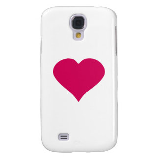Red Heart Galaxy S4 Case