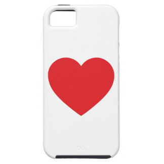 Red Heart iPhone 5 Case-Mate Tough