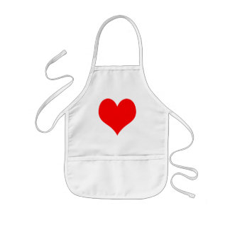 Red Heart Kids Apron
