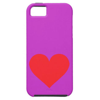 Red Heart - Love Card Suit Anatomy Case For iPhone 5/5S