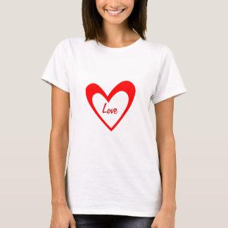 Red Heart Love Women's Shirt