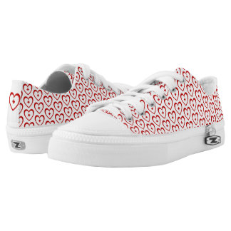 Red Heart + Low Top Shoes