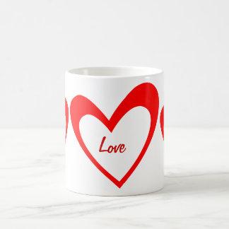 Red Heart Mug