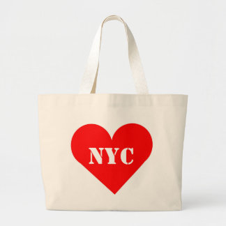 Red Heart NYC Jumbo Tote Bag