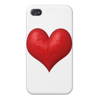 Red Heart of Stone iPhone 4 Covers