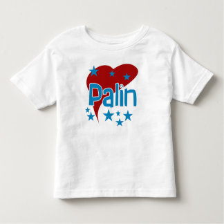 Red Heart Palin for Vice President Toddler T-shirt