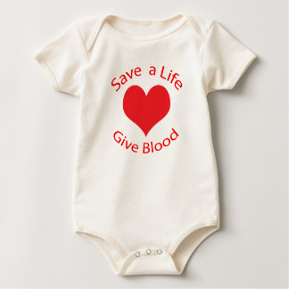 Red heart save a life give blood donation creeper