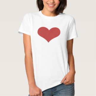 Red Heart T Shirts
