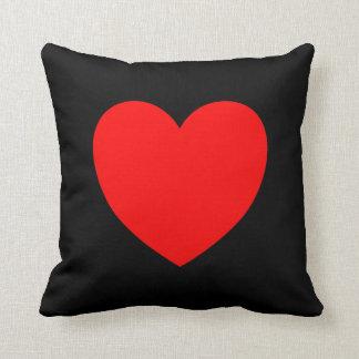 Red Heart Throw Pillow Cushion