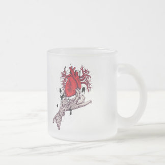 Red Heart Torn Heart In Hand Fantasy Art Coffee Mug