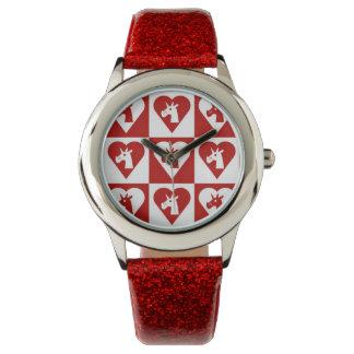 Red Heart Unicorn Watch