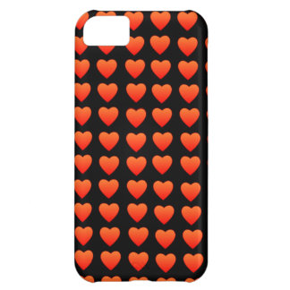 Red Hearts Barely There iPhone 5 Case