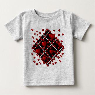 Red Hearts Black Diamonds Infant T-Shirt