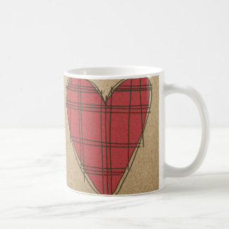 Red Hearts Coffee Mug