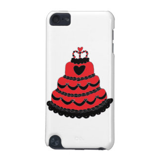 Red Hearts Gothic Cake iPod Touch (5th Generation) Case