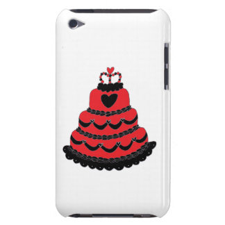 Red Hearts Gothic Cake Case-Mate iPod Touch Case