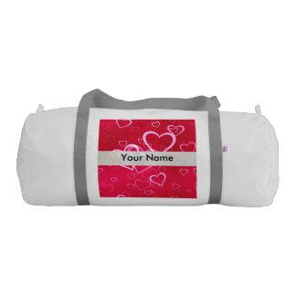 Red Hearts Gym Duffel Bag
