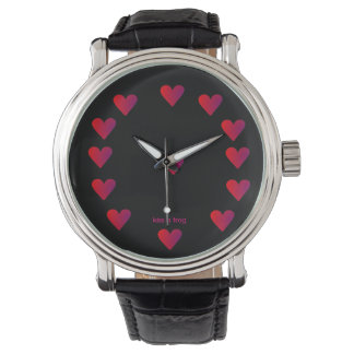 Red Hearts on Black Watch