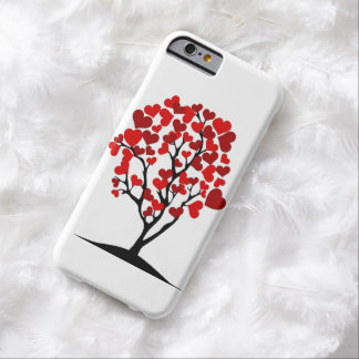 red hearts tree iphone case barely there iPhone 6 case