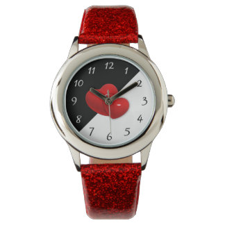 Red hearts watches