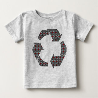 Red Hearts with Black and White Stars Tshirts