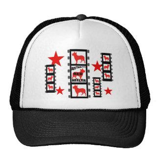 Red Heeler Movie Star On Film Cap