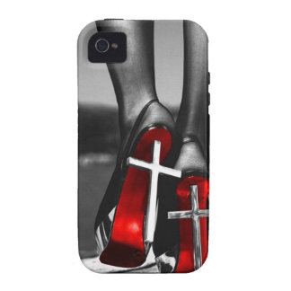 Red Heels Case-Mate iPhone 4 Covers