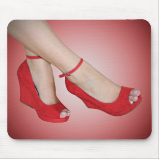 Red Heels Spotlight Mousepad