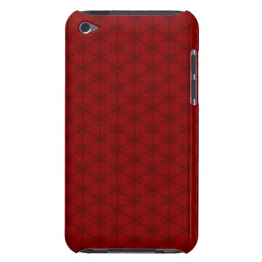 Red Hexagon iPod Touch Case