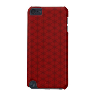 Red Hexagon iPod Touch (5th Generation) Covers