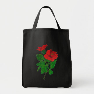 Red Hibiscus Bags