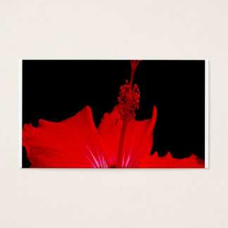 Red Hibiscus Business Card