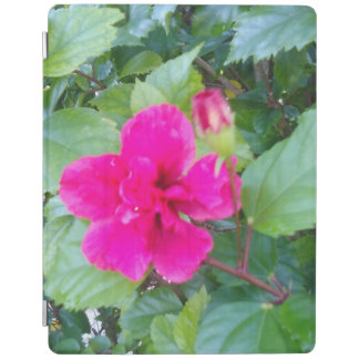 RED HIBISCUS FLOWER iPad COVER