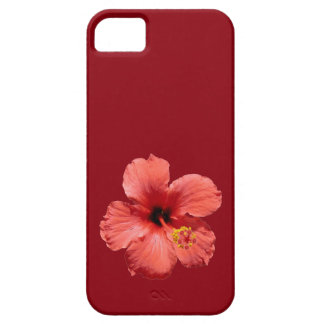 Red Hibiscus Flower iPhone 5 Covers