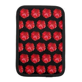 Red Hibiscus iPad Mini Sleeve