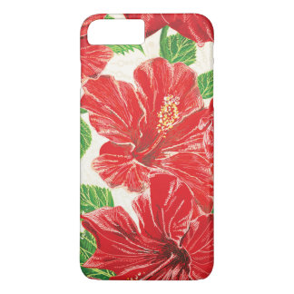 Red Hibiscus iPhone 7 Plus Case