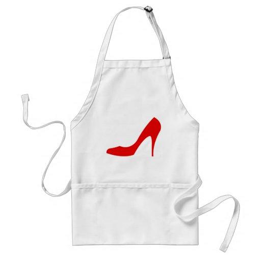 Red High Heel Aprons